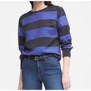 Banana Republic Rugby Striped Long Sleeve Shirt